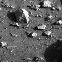 Viking first mars image