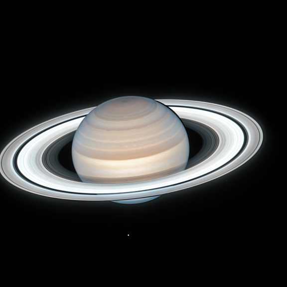 Saturn from Hubble in 2020