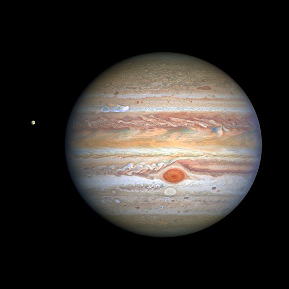 Jupiter from hubble 2020