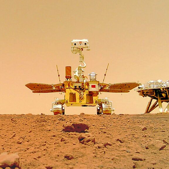 Zhurong Mars Rover