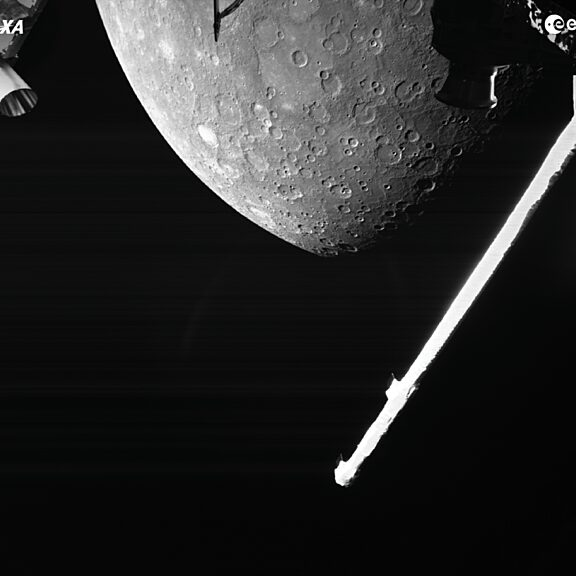 Bepi Colombo First Mercury Flyby