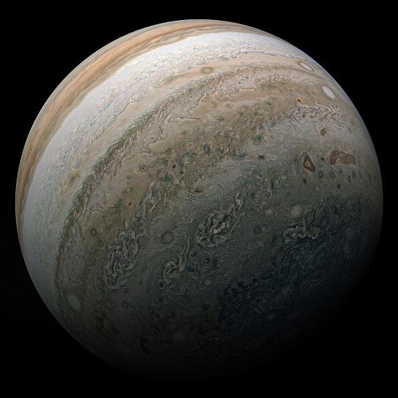 Jupiter Southern Hemipshere