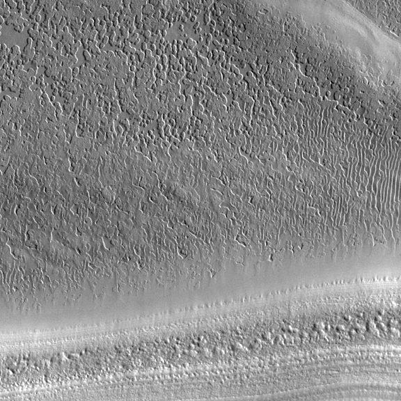 Mars South Pole Cap