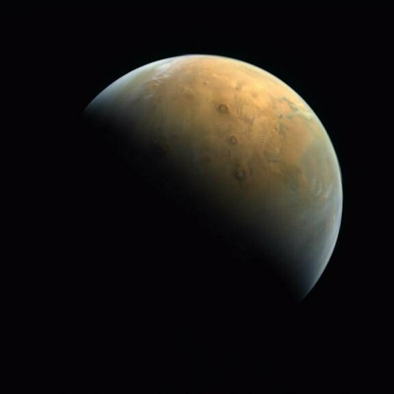 Hope first picture of mars