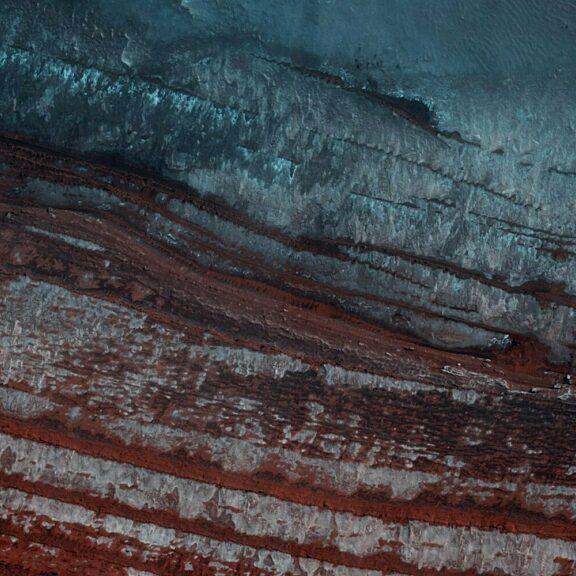 Mars north polar layered deposites