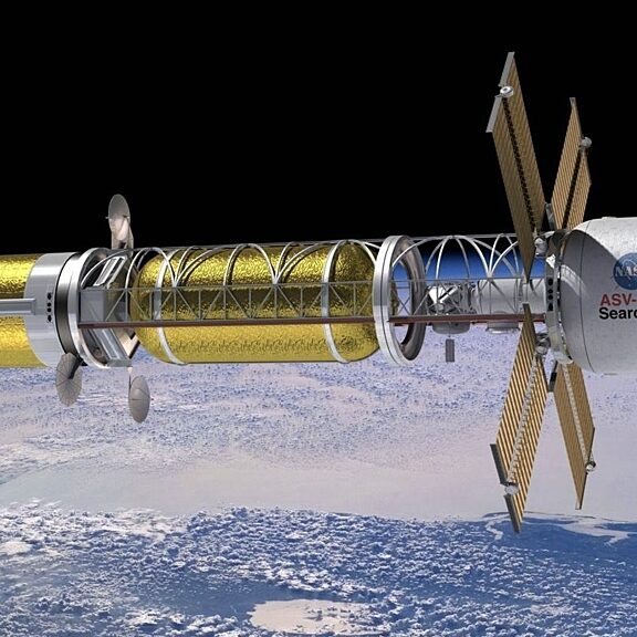 Nuclear thermal propulsion concept