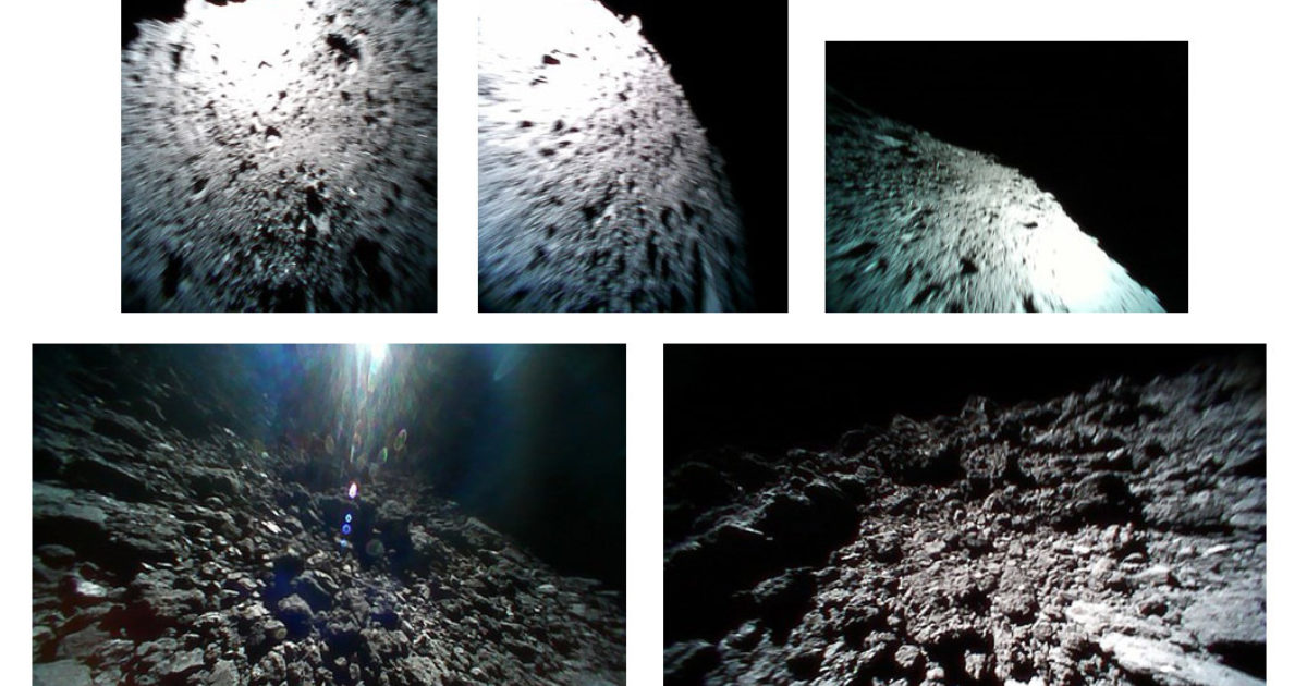 Japan's asteroid hoppers deliver new batch of incredible images