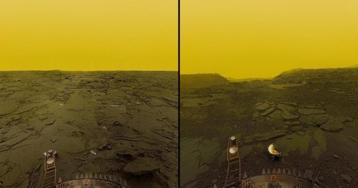 Images of Venus's surface from Venera 13 | The Planetary Society