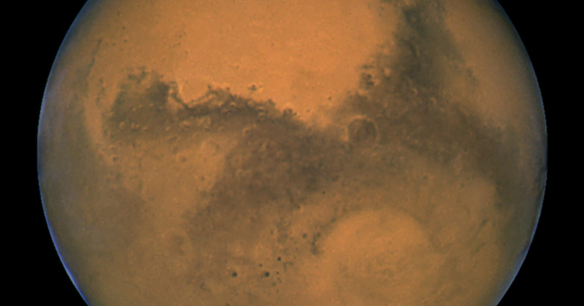 Mars' growth stunted!