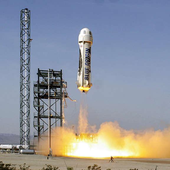 20160620 New Shepard Launch June 19 2016