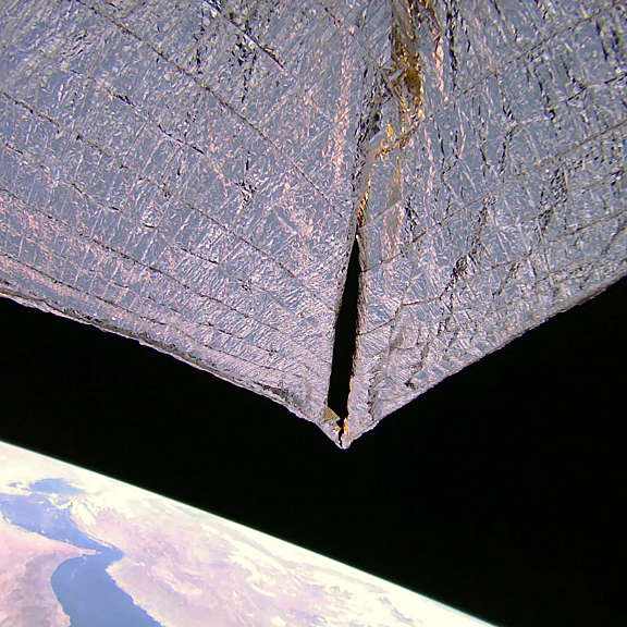 LightSail 2 over Earth