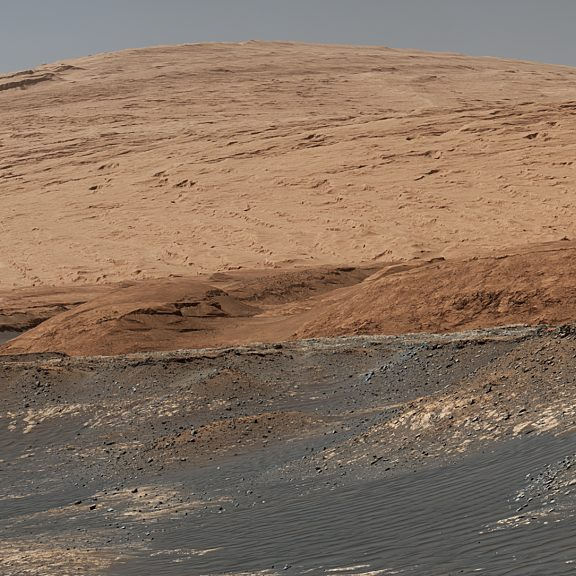 Mount sharp by curiosity january 2020