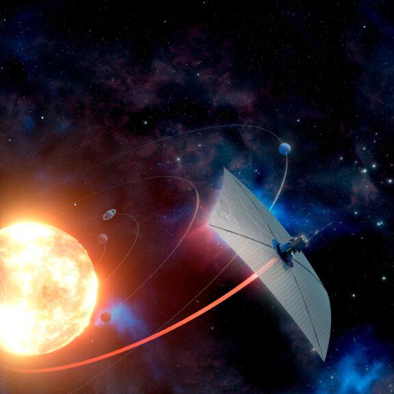 Extreme solar sailing