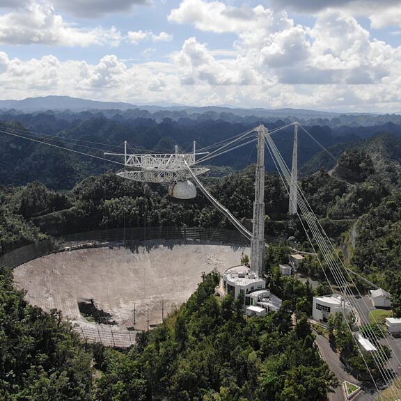 Arecibo observatory damaged