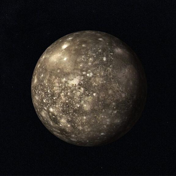 Callisto rendering