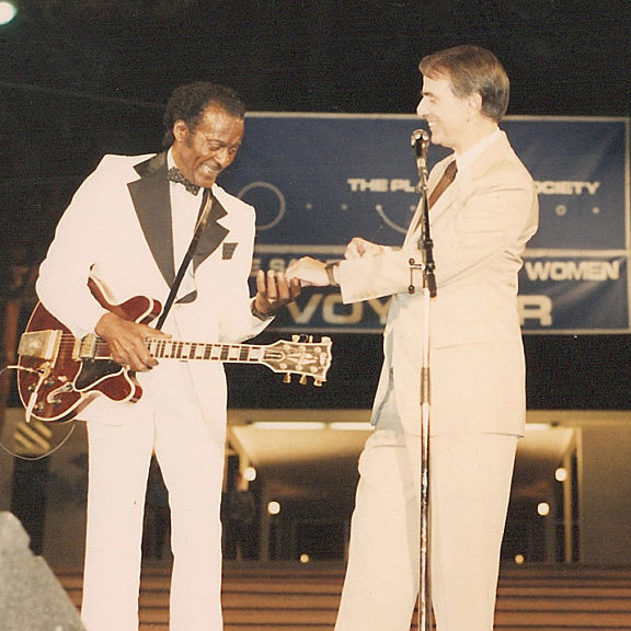 Carl sagan and chuck berry planetfest 89