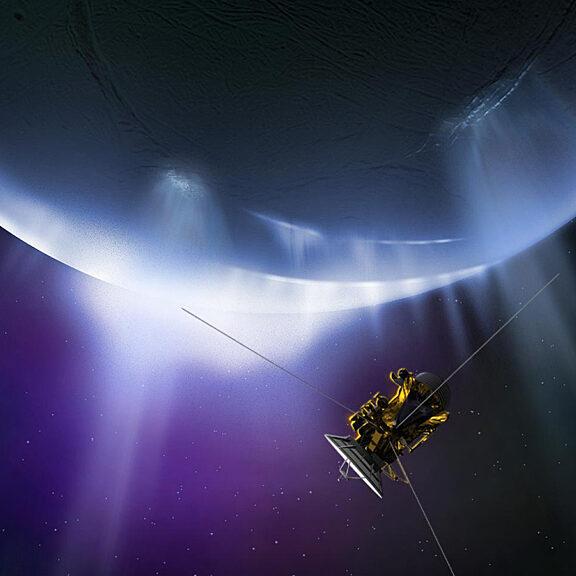 Cassini enceladus illustration