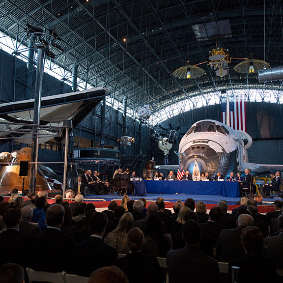 First meeting national space council