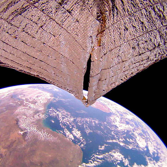 Lightsail 2 image southeast africa