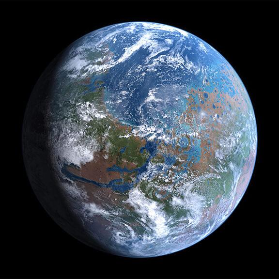 Mars terraformed