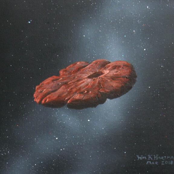Oumuamua painting hartmann