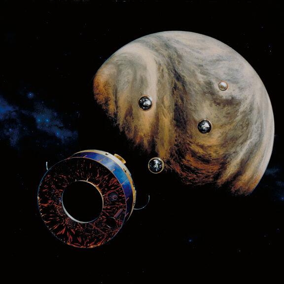 Pioneer venus multiprobe